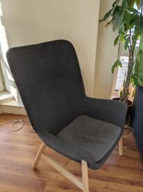 IKEA Armchair VEDBO Gray almost never used.