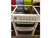 50CM WHITE CANNON ELECTRIC COOKER