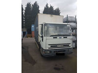 Reduced to clear - Iveco - Ford Cargo 7500kg curtain side truck in good condition