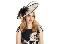 Wedding / Occasion Hat / Fascinator by Phase Eight, worn once to wedding.