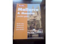 Mallorca and menorca guide book.