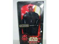 "Star Wars - Darth Maul 12"" Figure - Sealed Box"