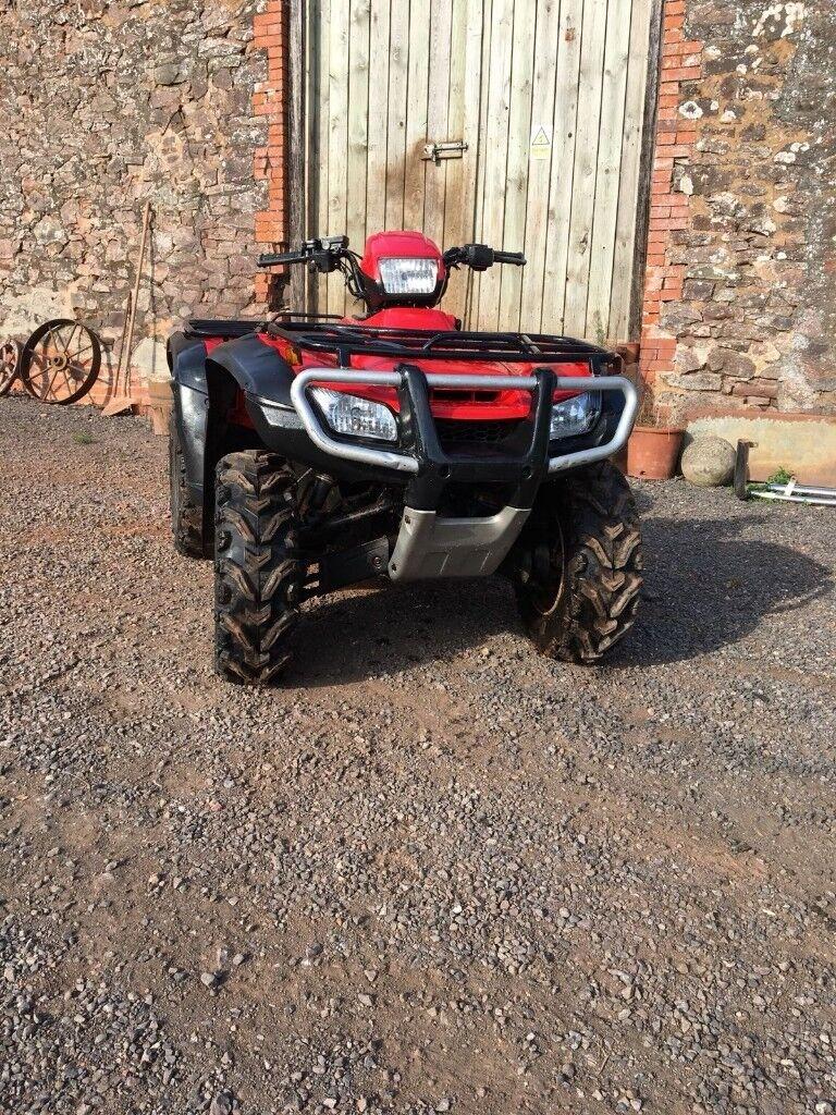 Honda TRX 500fm foreman 4x4 all terrain quad | in Tiverton, Devon | Gumtree