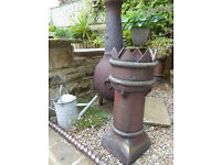 Reclaimed victorian crown chimney pot (3 available - advert is for 1 only)