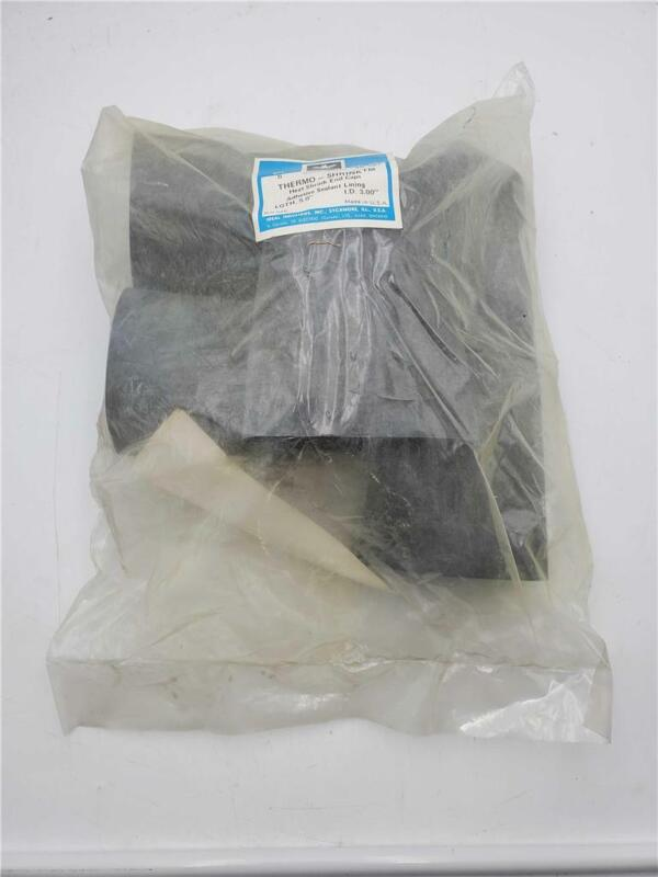 """THERMO-SHRINK HEAT SHRINK END CAPS 5.0"""" LENGTH 3.00 I.D. (5 PACK)"""