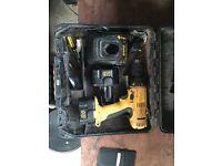 Dewalt drill, charger & 2 batteries
