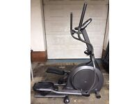 Vision Fitness X1500 Elliptical Trainer/Walker, Exercise Machine, Good Condition, Solid Machine.