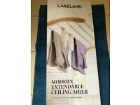 Lakeland ceiling clothes airer