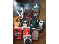 Bundle of 14 vampire /werewolf teenage books