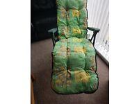 Recliner garden chair