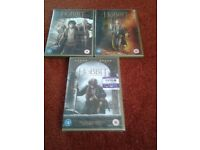 The Hobbit 3 Film DVD Collection for sale.