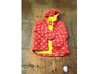 Mini Boden Red Anorak Age 11-12 years very good condition