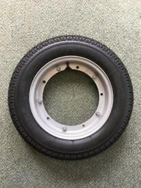 SOLD - Vespa PX 125 Wheel and Tyre