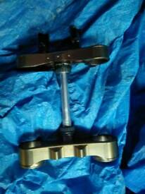 Husaberg force edition alloy yokes fs450/650