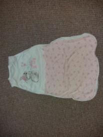 Baby sleeping bag 0-6 mths