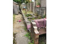 Urgently/ Need general labourer to break small garden wall