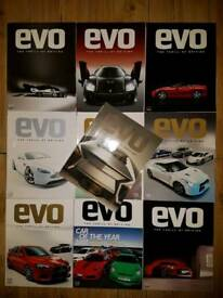 EVO Magazine Collectors' Editions 110-119 (2007-2008)