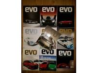 EVO Magazine Collectors' Editions 110-119 (2007-2008)