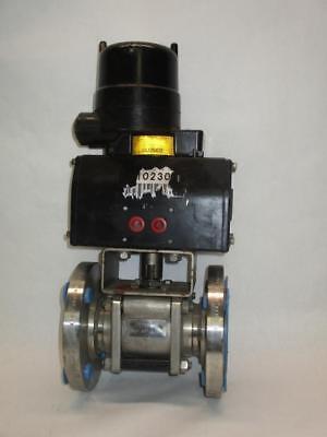 Keystone Valve Position Indicator W Pneumatic Actuator W Itt 2 Valve