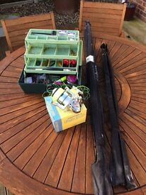 Sea Fishing Tackle, Rods & Reel