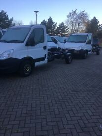 LAST ONE 2013 Iveco chassis cab Lwb automatic 13 reg (ideal for tipper or recovery) NO VAT