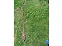 SOLID STEEL TOWING BAR 9ft