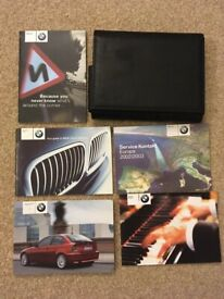 BMW 3 SERIES COMPACT E46 316ti to 325ti 2001-2005 USER OWNERS Wallet Handbook