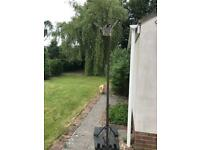 Basketball hoop and stand SOLD