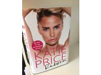 Katie Price Book Reborn - SIGNED BY KATIE