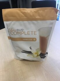 Juice plus complete vanilla shakes