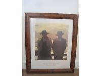 Framed Jack Vettriano Print