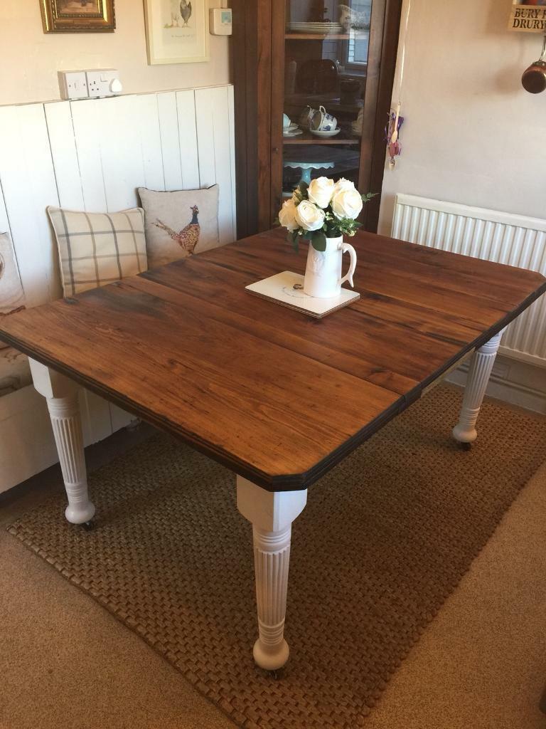 Antique Walnut Dining Table In Norwich Norfolk Gumtree
