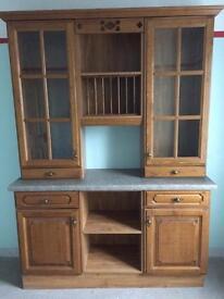 kitchen dresser / display unit