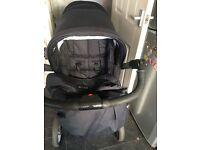 Double pram from birth good condition Comes from pet and smoke free home