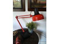 Vintage Lamp Lival P12 Anglepoise Retro Mid Century