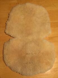 John Lewis lamb skin liner
