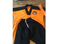 Tae Kwon Do little tigers suit small