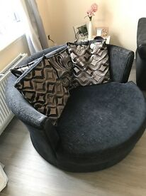 Sofa - cuddle chair, swivel chair, love seat