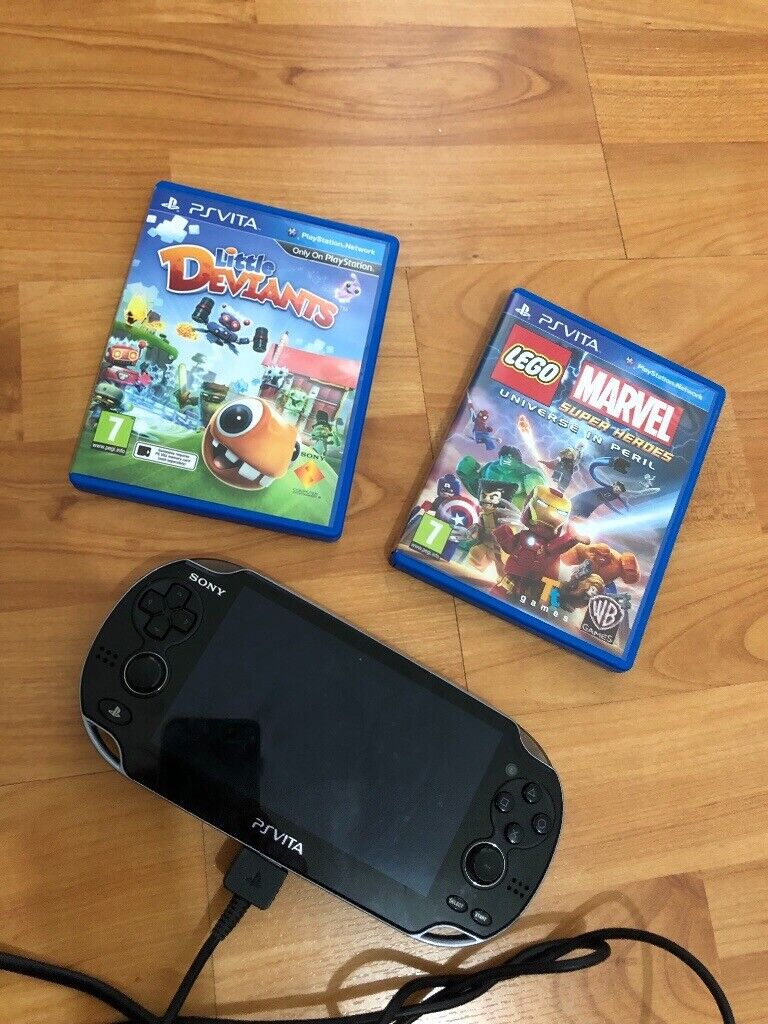 Playstation vita console and games ps model PCH-1103 | in Ballinderry  Upper, County Antrim | Gumtree