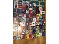 Mixture of R&B, House and Hipop 80's and 90's CD's