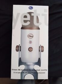 Blue Yeti Professional Microphone