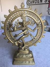 Solid Brass Shiva Nataraja Statue