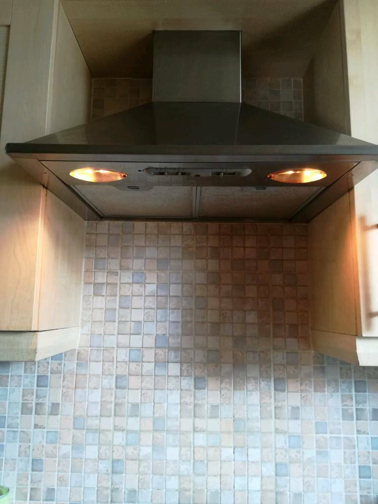 Electric Hood Gas Cooker Hob And Electric Oven In