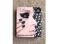 BRAND NEW CIATE LONDON LONG WEARING FEATHERED MANICURE SET