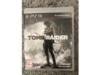 Tomb Raider PS3 game.