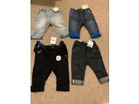 Next jeans 3/6 months - brand new
