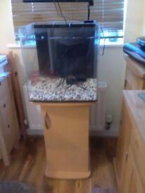 Aqua Nano Fish tank suitable for gold fish and tropical fish