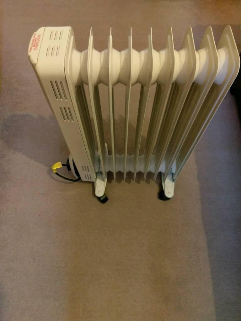 9 fin oil filled radiator 2000w