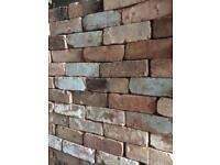 """Reclaimed Imperial Commons measure 9""""x4.5""""x3"""" with up to 1000 Bricks available Feature wall"""