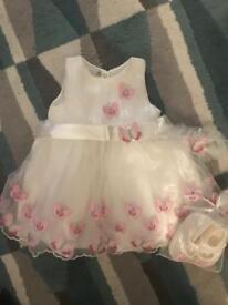 BNWT girls dress 6-12 months